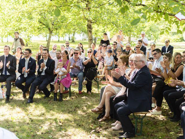 Le mariage de Hervé et Rosine à Ennordres, Cher 24