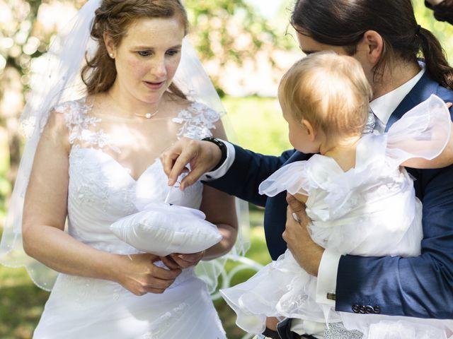 Le mariage de Hervé et Rosine à Ennordres, Cher 25
