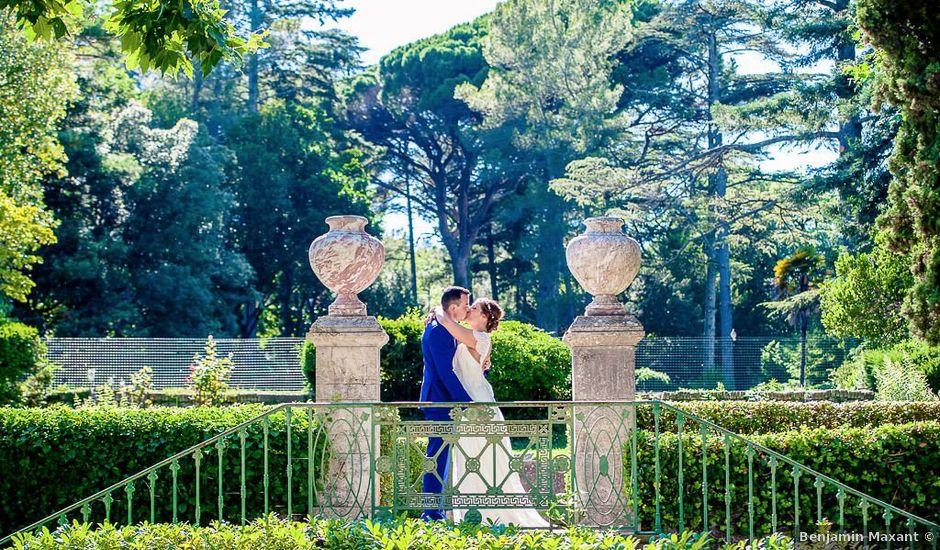 Le mariage de Thomas et Eva à Les Arcs, Var