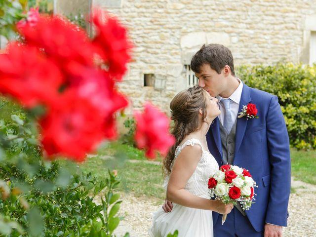 Le mariage de Gabriel et Alice à Druyes-les-Belles-Fontaines, Yonne 10