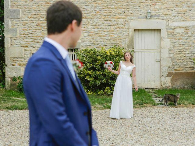 Le mariage de Gabriel et Alice à Druyes-les-Belles-Fontaines, Yonne 12