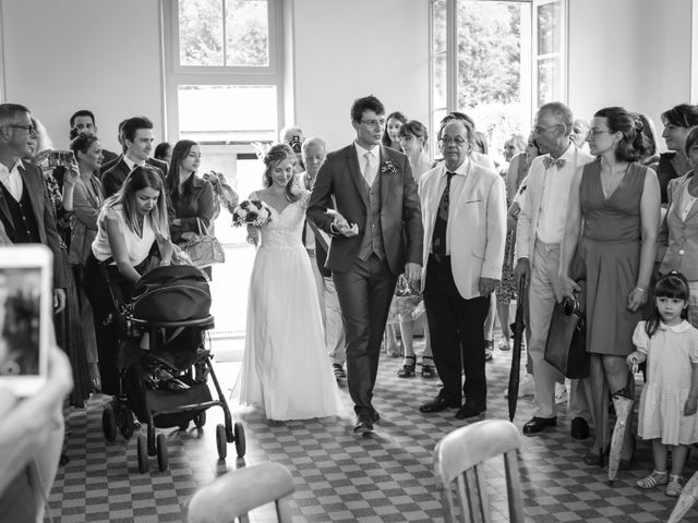 Le mariage de Gabriel et Alice à Druyes-les-Belles-Fontaines, Yonne 16