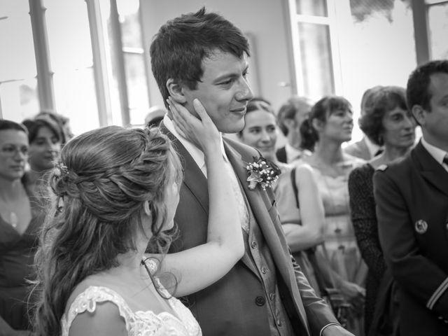 Le mariage de Gabriel et Alice à Druyes-les-Belles-Fontaines, Yonne 17