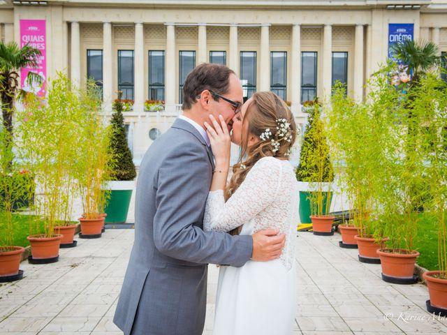 Le mariage de Benjamin et Malaury à Puteaux, Hauts-de-Seine 10
