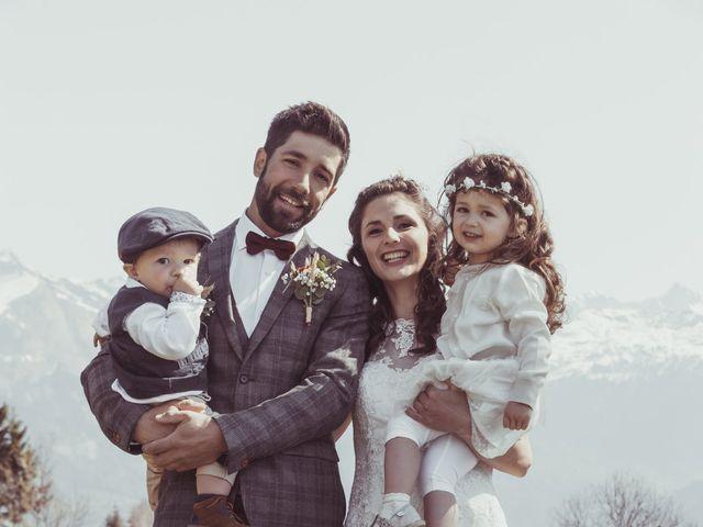 Le mariage de Quentin et Lucile à Le Reposoir, Haute-Savoie 12
