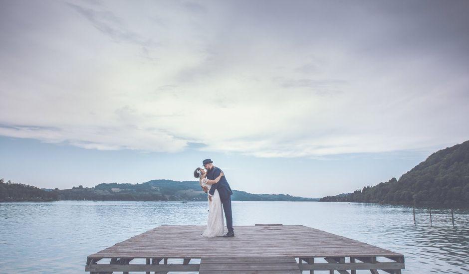 Le mariage de Jean-françois et Camille à Paladru, Isère
