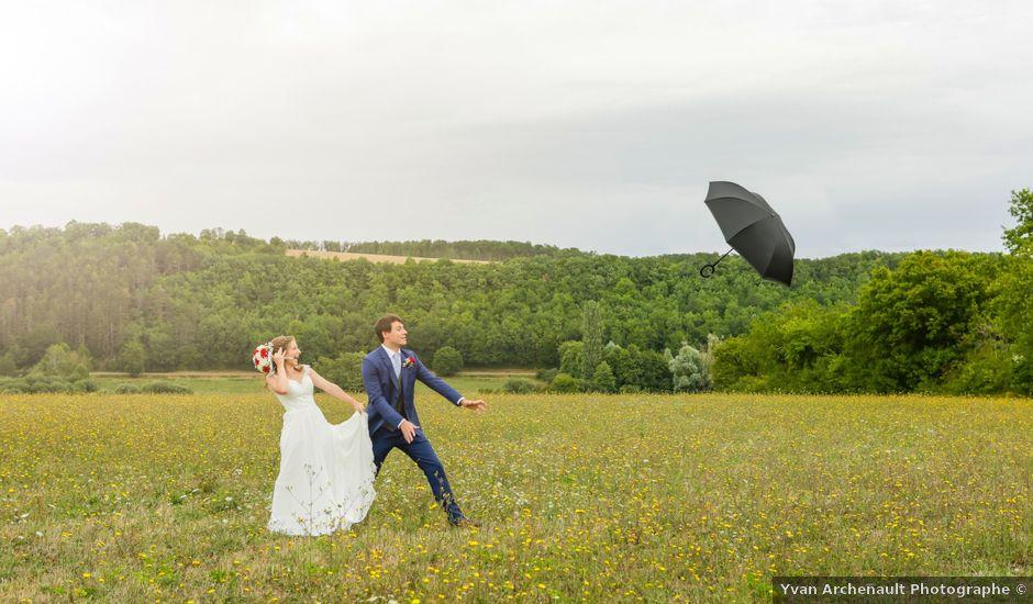 Le mariage de Gabriel et Alice à Druyes-les-Belles-Fontaines, Yonne
