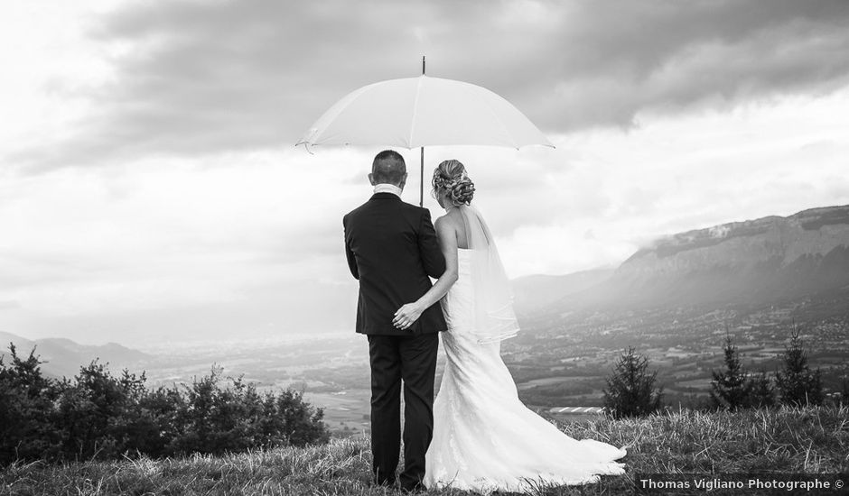 Le mariage de Damien et Emmanuelle à La Combe-de-Lancey, Isère