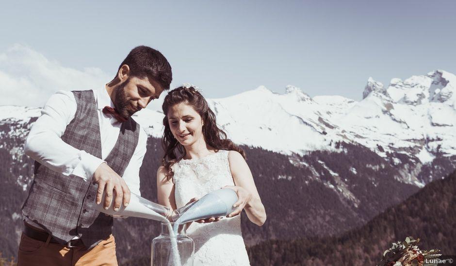 Le mariage de Quentin et Lucile à Le Reposoir, Haute-Savoie