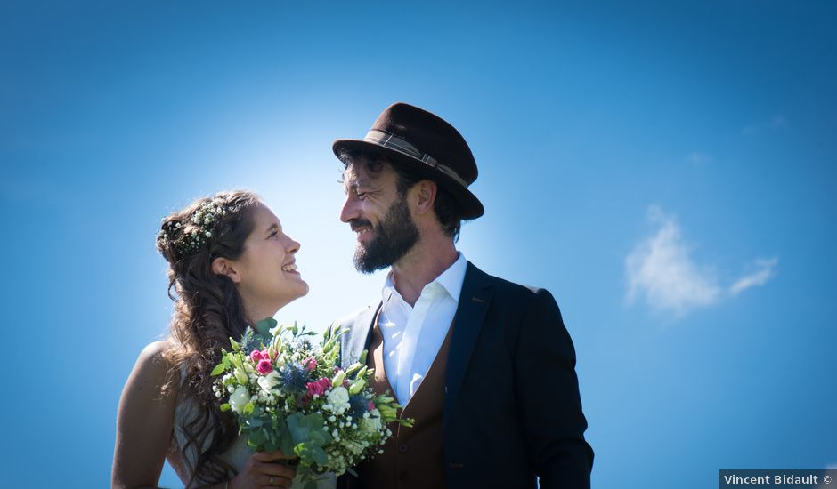 Le mariage de Luc et Marion à Salins-les-Bains, Jura