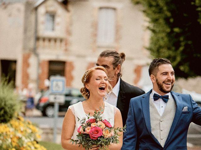 Le mariage de Maxime et Cindy à Loudun, Vienne 5