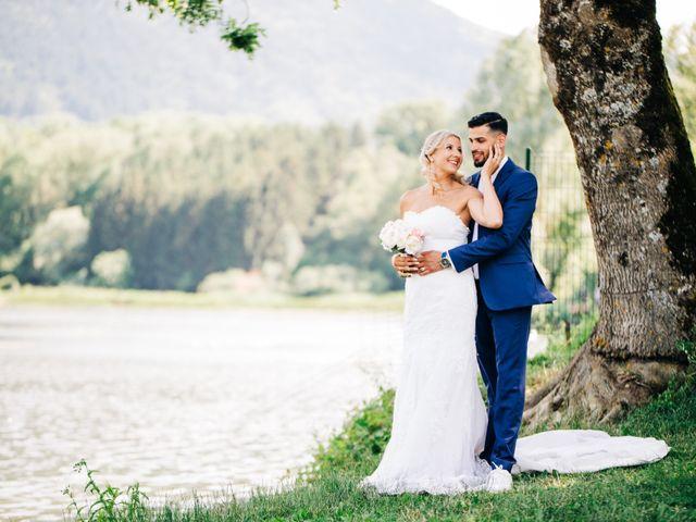 Le mariage de Tayeb et Soléne à Saint-Julien-en-Genevois, Haute-Savoie 1