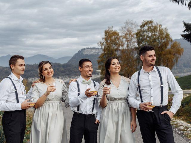 Le mariage de Thibault et Anais à Montagnole, Savoie 11