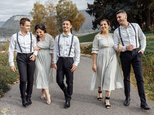 Le mariage de Thibault et Anais à Montagnole, Savoie 12