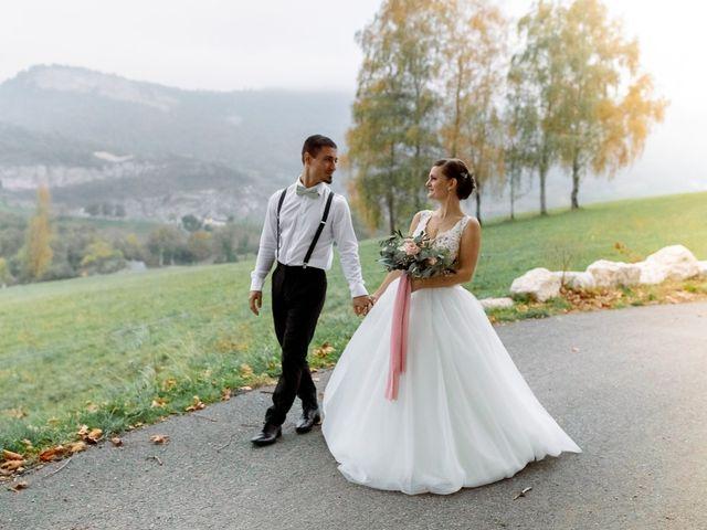 Le mariage de Thibault et Anais à Montagnole, Savoie 34