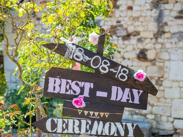 Le mariage de Benoit et Gwendoline à Cussay, Indre-et-Loire 4