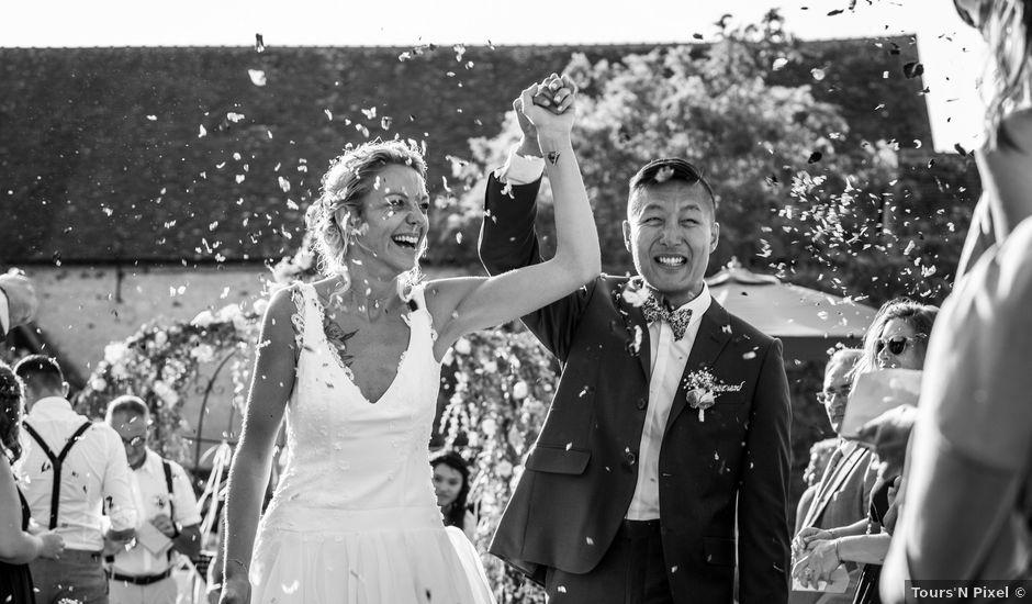 Le mariage de Benoit et Gwendoline à Cussay, Indre-et-Loire