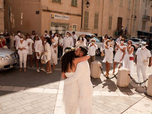 Le mariage de Kévin et Amandine à Saint-Tropez, Var 5