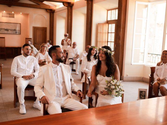 Le mariage de Kévin et Amandine à Saint-Tropez, Var 12