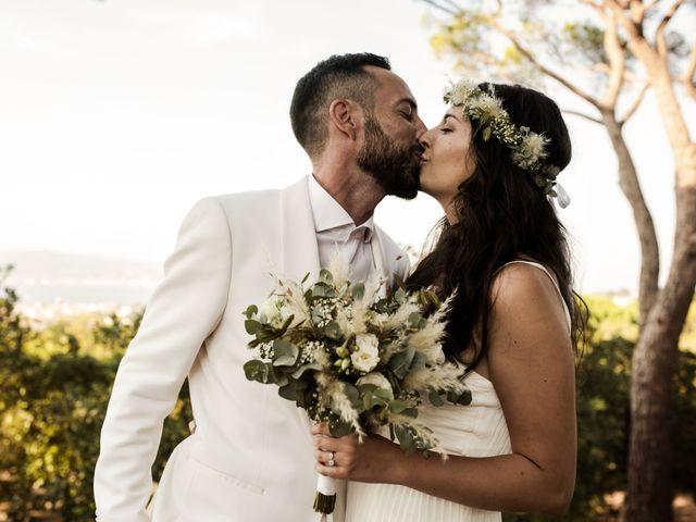 Le mariage de Kévin et Amandine à Saint-Tropez, Var 44