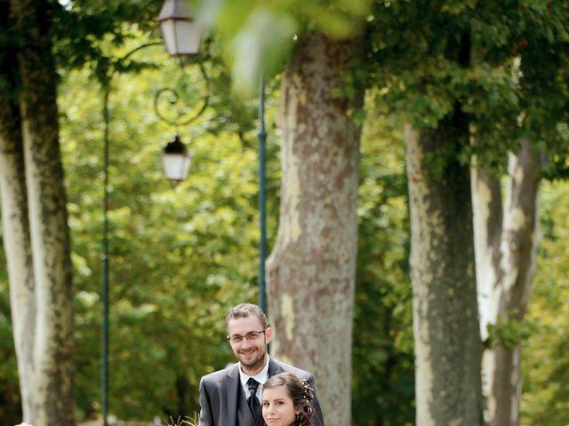 Le mariage de Frank et Coralie à Neuville-les-Dames, Ain 6