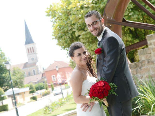 Le mariage de Frank et Coralie à Neuville-les-Dames, Ain 7