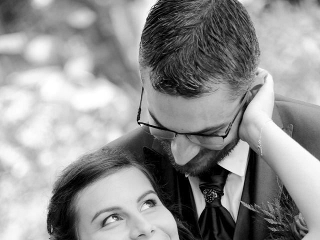 Le mariage de Frank et Coralie à Neuville-les-Dames, Ain 8