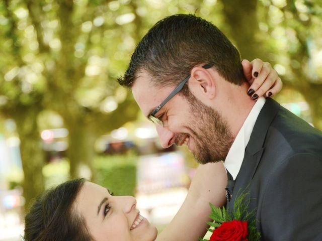 Le mariage de Frank et Coralie à Neuville-les-Dames, Ain 9
