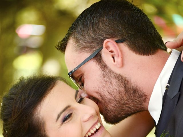 Le mariage de Frank et Coralie à Neuville-les-Dames, Ain 1