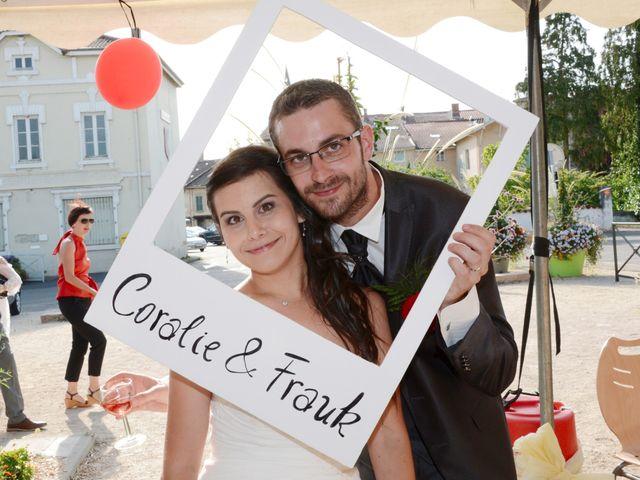 Le mariage de Frank et Coralie à Neuville-les-Dames, Ain 14