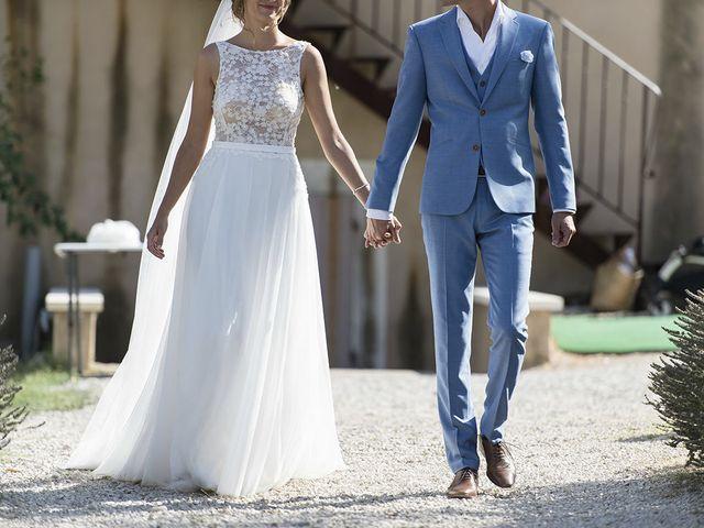 Le mariage de François Xavier et Flora à Saint-Saturnin-lès-Apt, Vaucluse 23