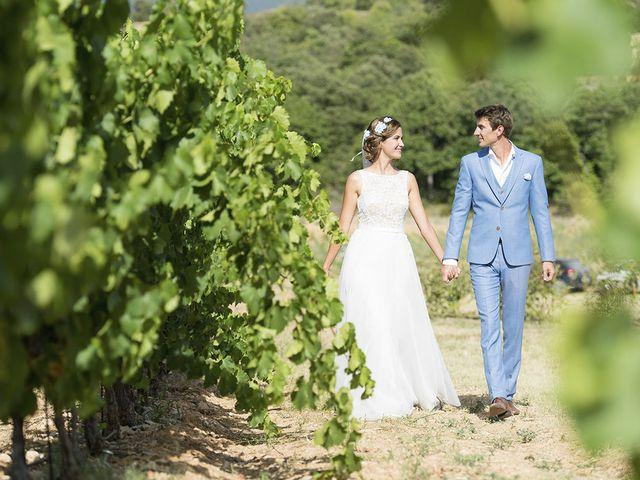 Le mariage de François Xavier et Flora à Saint-Saturnin-lès-Apt, Vaucluse 27