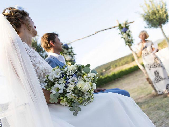 Le mariage de François Xavier et Flora à Saint-Saturnin-lès-Apt, Vaucluse 45