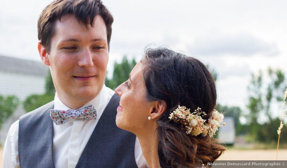 Le mariage de Jean-Baptiste et Virginie à Louans, Indre-et-Loire