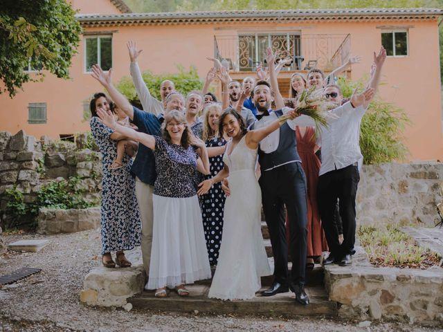 Le mariage de Jérôme et Anne-Laure à Gilette, Alpes-Maritimes 66