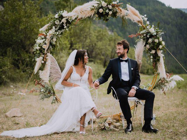 Le mariage de Jérôme et Anne-Laure à Gilette, Alpes-Maritimes 32