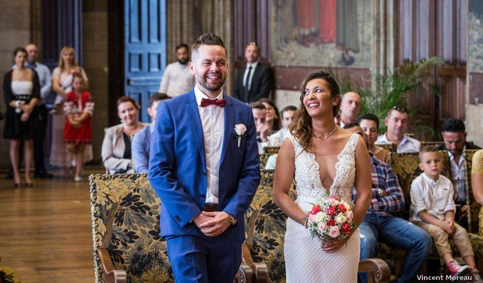Le mariage de Lucian et Nadia à Douai, Nord