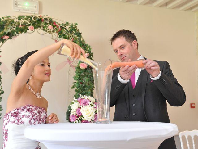 Le mariage de Thierry et Christine à Mandeville-en-Bessin, Calvados 12