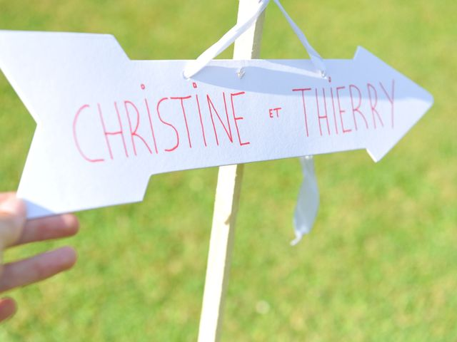 Le mariage de Thierry et Christine à Mandeville-en-Bessin, Calvados 16
