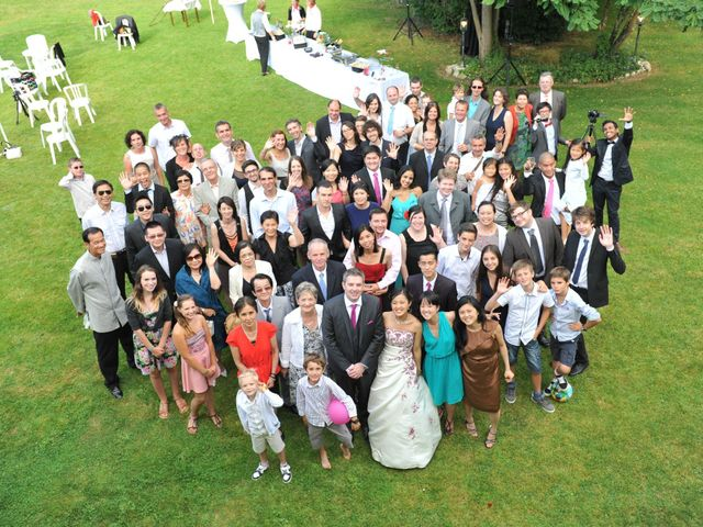 Le mariage de Thierry et Christine à Mandeville-en-Bessin, Calvados 19