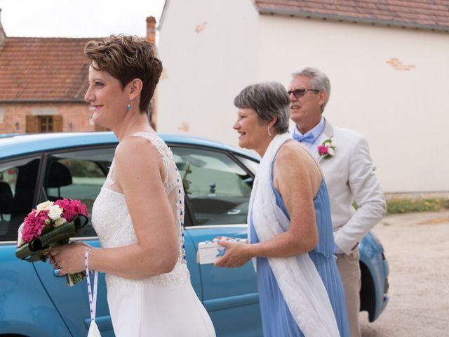 Le mariage de Francesco et Cécile à Vouzon, Loir-et-Cher 4