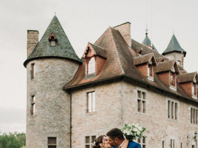 Le mariage de Ludovic et Lucie  à Château-Chervix, Haute-Vienne 32