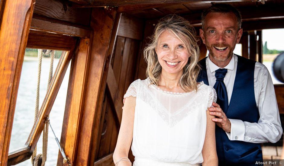 Le mariage de Nicolas et Christelle à La Chapelle-sur-Loire, Indre-et-Loire