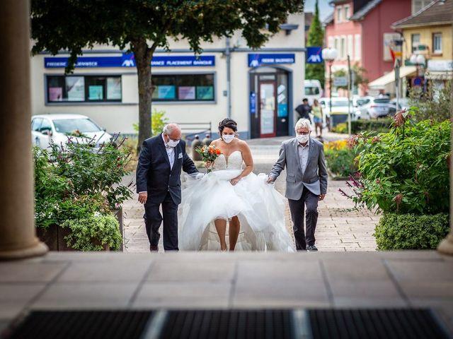Le mariage de Andrew et Anaïs à Lutterbach, Haut Rhin 12