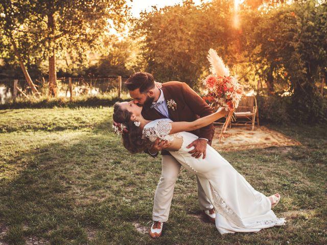 Le mariage de Pierre et Eva à La Roche-Chalais, Dordogne 1