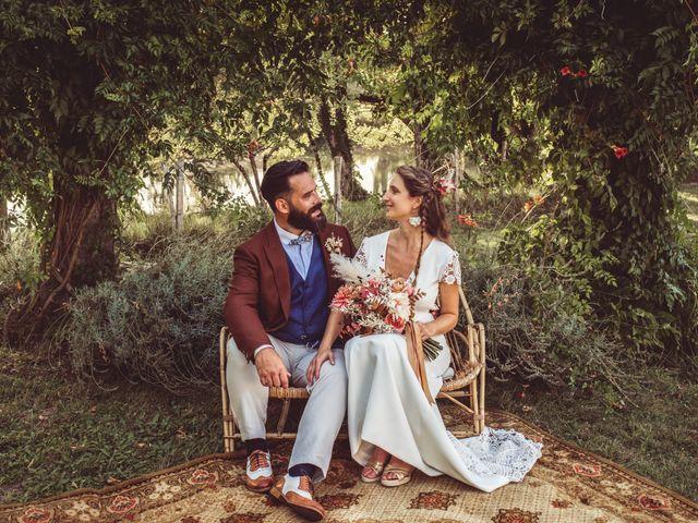 Le mariage de Pierre et Eva à La Roche-Chalais, Dordogne 2