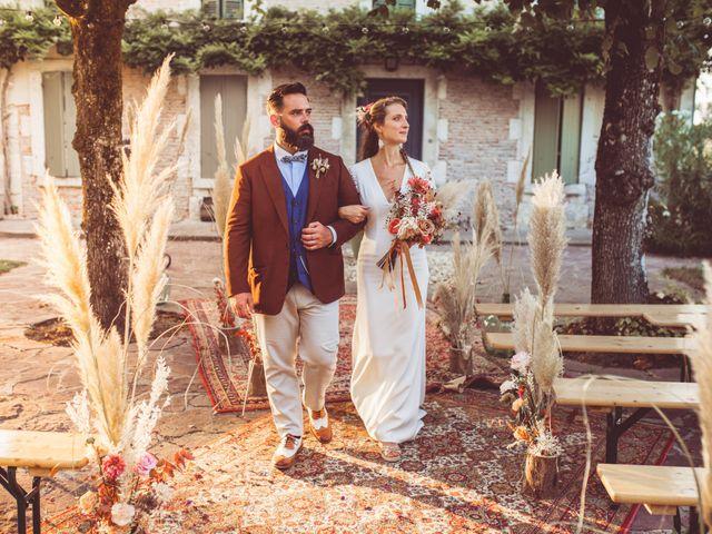 Le mariage de Pierre et Eva à La Roche-Chalais, Dordogne 5
