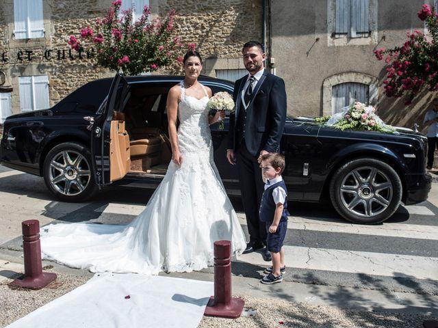 Le mariage de Fabien et Alissa à Coux, Ardèche 1