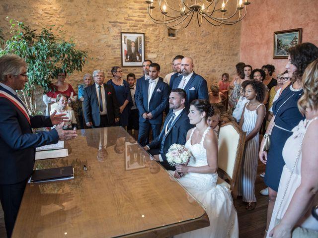 Le mariage de Fabien et Alissa à Coux, Ardèche 2