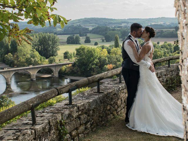 Le mariage de Fabien et Alissa à Coux, Ardèche 17